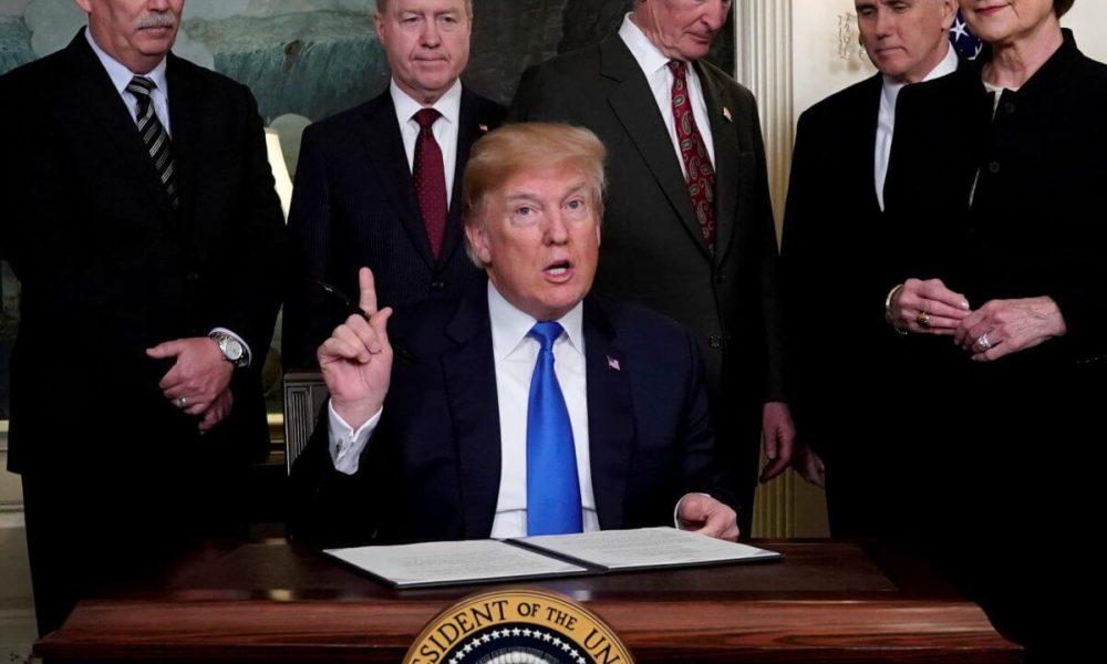 Dow Reverses Sharply After Trump Tariff News Rocks Stock Market