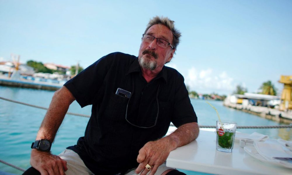Bitcoin is the Hotmail of Crypto, and the Real Sh*tcoin: John McAfee