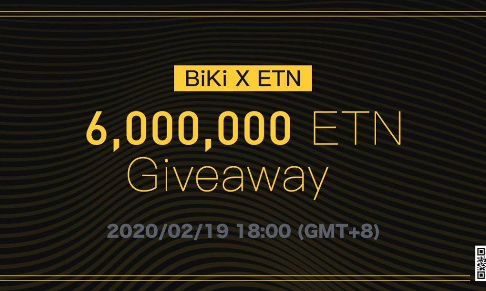 BiKi.com Announces Electroneum Listing with 6 Million ETN Giveaway