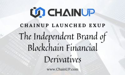 ChainUP Launches EXUP, An Independent Brand of Blockchain Financial Derivatives