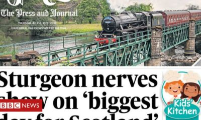 Scotland's papers: 'Biggest day for Scotland' as lockdown eased